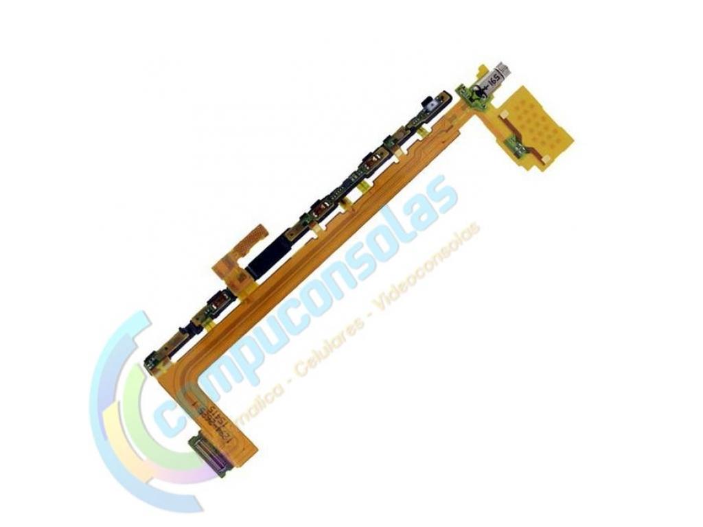 CABLE FLEX BOTONES LATERALES Y VIBRADOR XPERIA Z5 PREMIUM