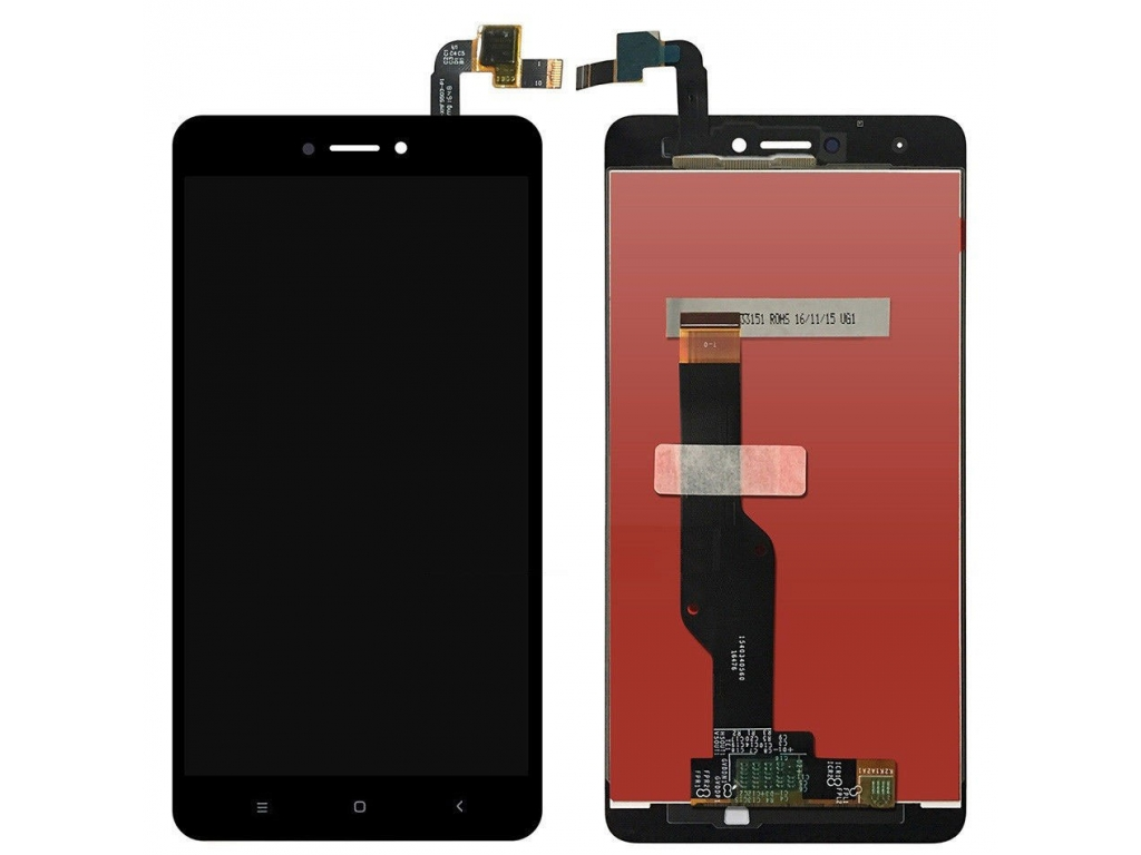 PANTALLA LCD DISPLAY CON TOUCH XIAOMI REDMI NOTE 4X NEGRA