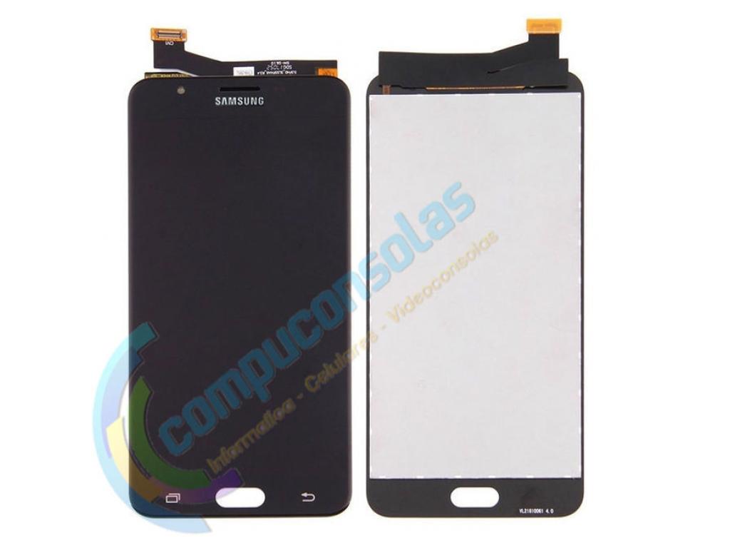 PANTALLA LCD DISPLAY CON TOUCH SAMSUNG GALAXY J7 PRIME G610 NEGRO