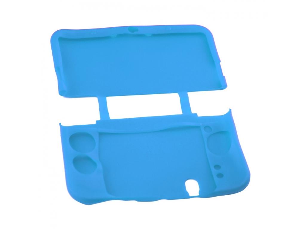 FUNDA PROTECTOR SILICONA NINTENDO NEW 3DS XL AZUL