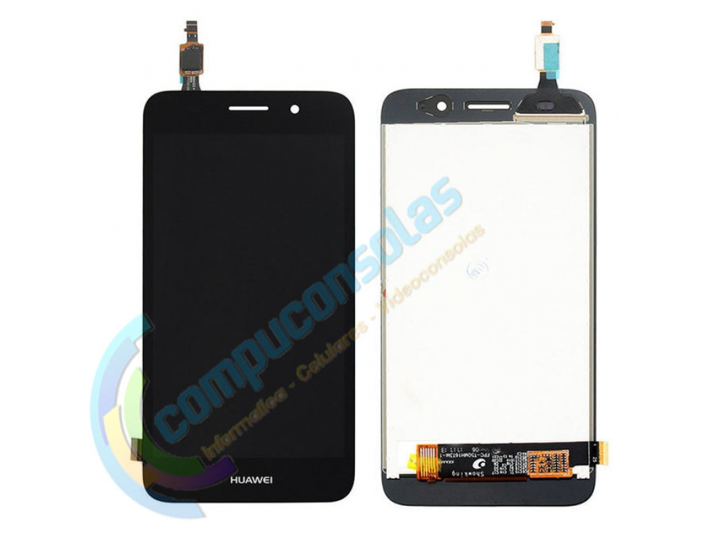 PANTALLA LCD DISPLAY CON TOUCH HUAWEI Y5 LITE Y3 2017 CRO-L03 NEGRA