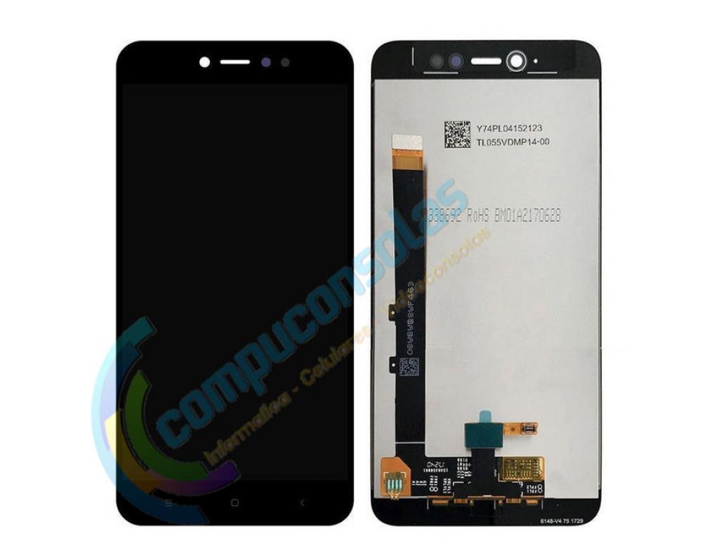 PANTALLA LCD DISPLAY CON TOUCH XIAOMI REDMI NOTE 5A PRIME NEGRO