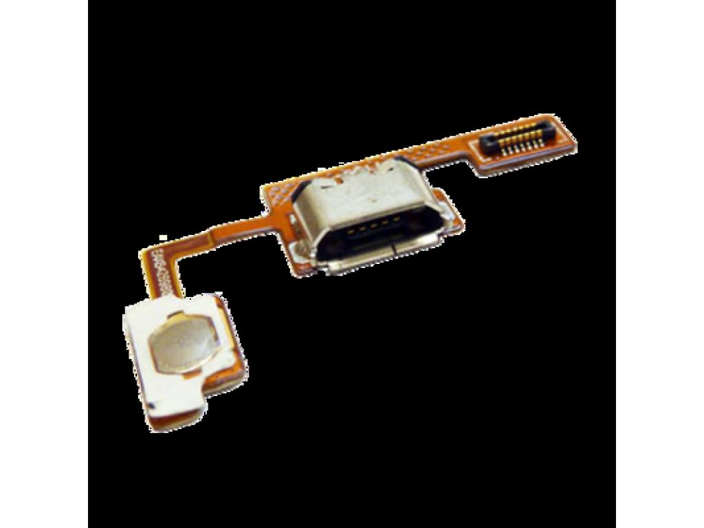 CABLE FLEX CONECTOR DE CARGA  y BOTON DE ENCENDIDO LG OPTIMUS BLACK P970