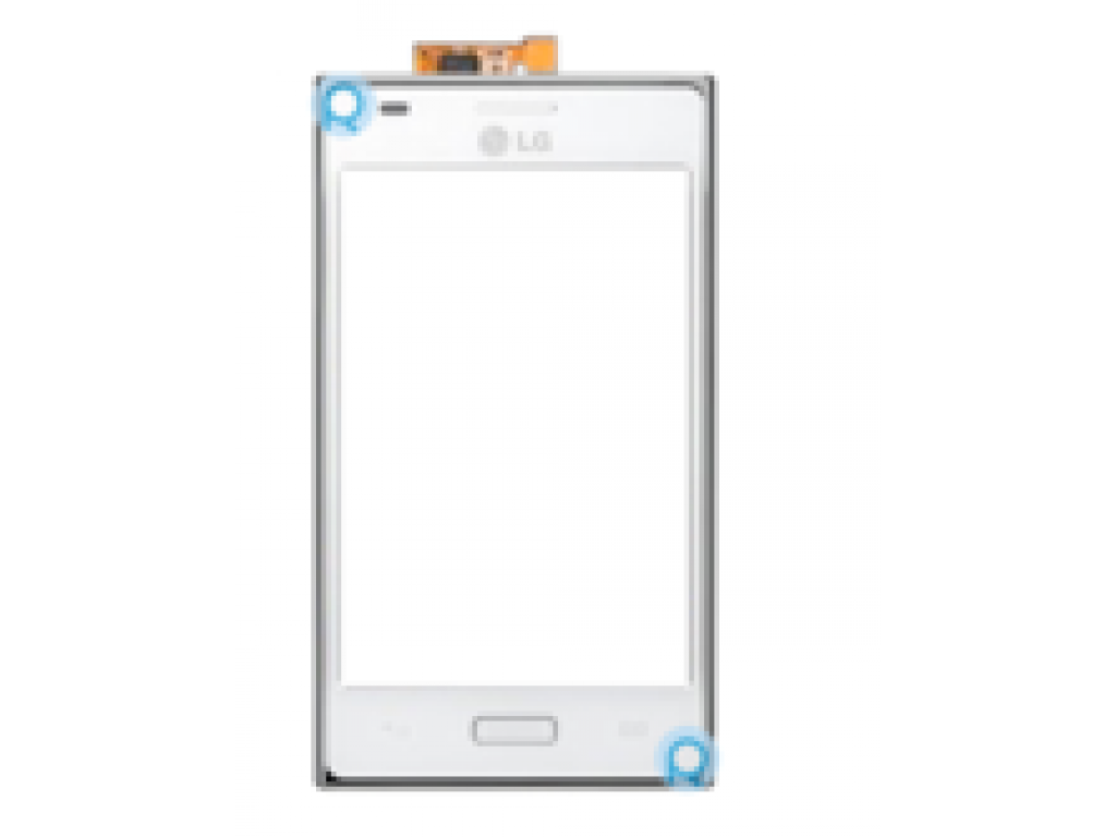 PANTALLA TACTIL DIGITALIZADOR LG OPTIMUS L5 E610 E612 E615 BLANCO