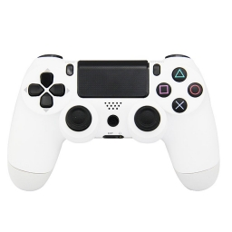 JOYSTICK INALAMBRICO PLAYSTATION 4 COMPATIBLE BLANCO