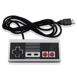 JOYSTICK USB RETRO DISEÑO NINTENDO 8 BIT PARA PC Y NOTEBOOK