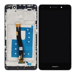 PANTALLA LCD DISPLAY CON TOUCH HUAWEI MATE 9 LITE 2017 BLL-L23 NEGRO CON MARCO