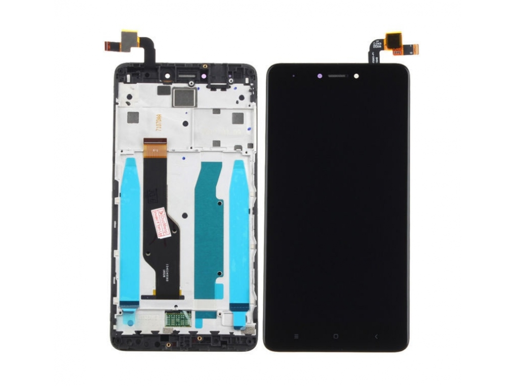 PANTALLA LCD DISPLAY CON TOUCH XIAOMI REDMI NOTE 4X NEGRA CON MARCO