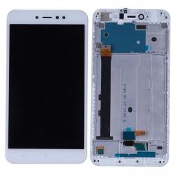PANTALLA LCD DISPLAY CON TOUCH XIAOMI REDMI NOTE 5A PRIME BLANCO CON MARCO