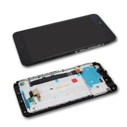 PANTALLA LCD DISPLAY CON TOUCH XIAOMI REDMI NOTE 5A PRIME NEGRO CON MARCO