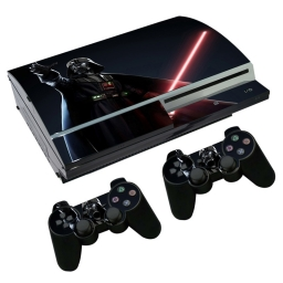 VINILO SKIN ADHESIVO PEGOTIN PERSONALIZAR PLAYSTATION 3 FAT DARTH VADER
