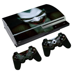 VINILO SKIN ADHESIVO PEGOTIN PERSONALIZAR PLAYSTATION 3 FAT JOKER