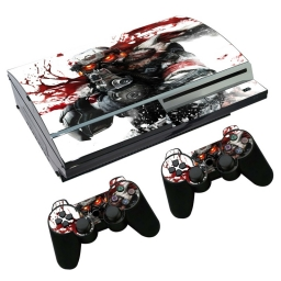 VINILO SKIN ADHESIVO PEGOTIN PERSONALIZAR PLAYSTATION 3 FAT KILL ZONE