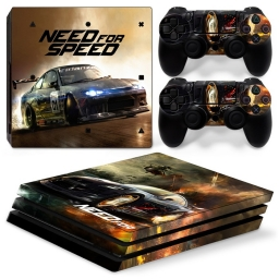 VINILO SKIN ADHESIVO PEGOTIN PERSONALIZAR PLAYSTATION 4 PRO NEED FOR SPEED