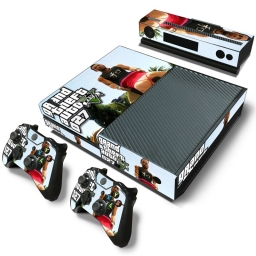 VINILO SKIN ADHESIVO PEGOTIN XBOX ONE FAT GTA 5